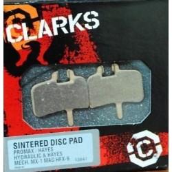 Pastilhas Travão Clarks para Hayes /Promax Sinteterizadas