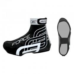 Capas de sapatos Force Rainy (preto brilho)